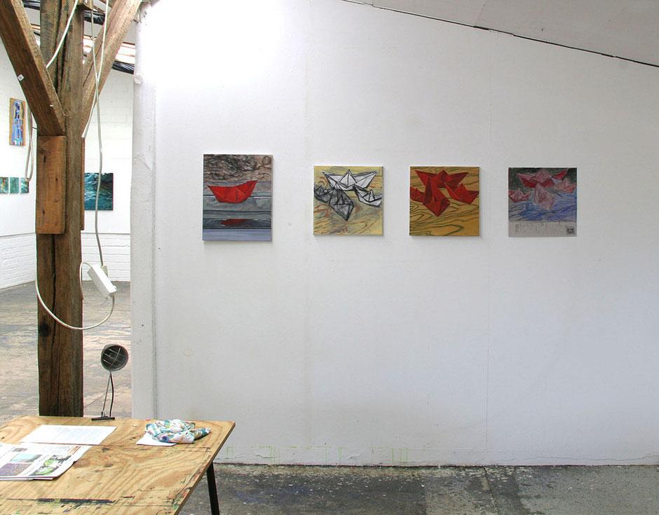 Christa Löffler-Tichy, Kleine Werkstatt, Atelier, Malkasten Warendorf, Malkasten Münster