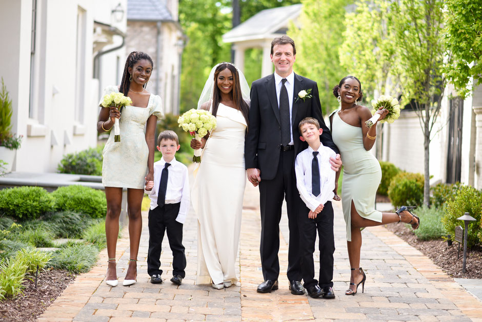 Dr. Iyabo Webzell and family