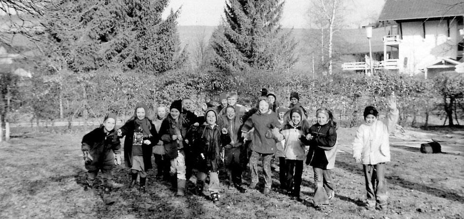Erste jahrgangsgemische Klasse Herbst 2001