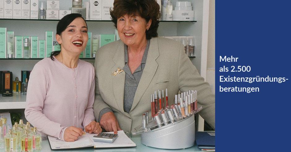 Eine meiner ersten Beratung im Jahr 2000 im Kosmetik Studio von Tülay Eitze-Vuruk in Blankenese