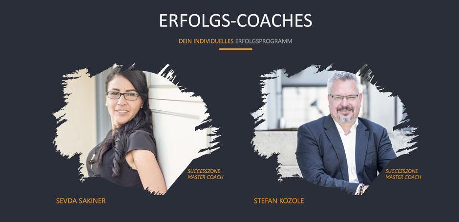 SUCCESSZONE das Erfolgsprogramm von COTUR® - Wie Du mehr Erfolgt im Leben hast - Sevda Sakiner und Stefan Kozole