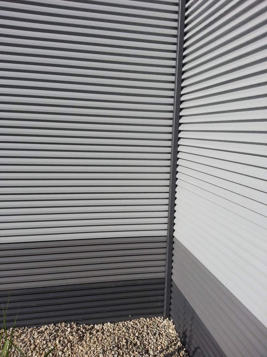 Alu Sichtschutz Vertigo 3 m Hoch