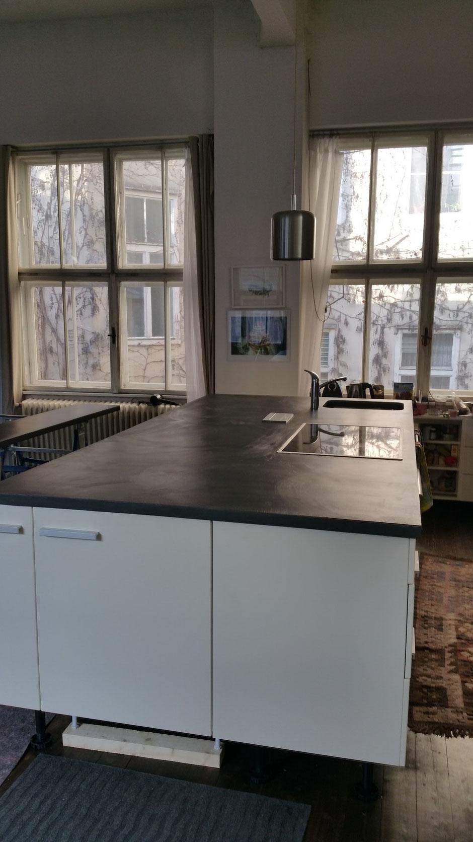 Küchenarbeitsplatte neugestaltung