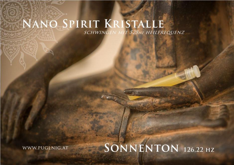 Nano 126,22 hz Sonnenton Spirit Kristalle www.puglnig.at