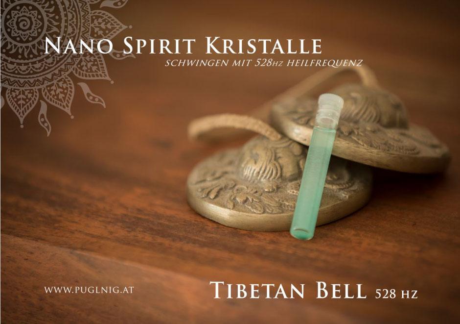Nano 528 hz Tibetan Bell Spirit Kristalle www.puglnig.at