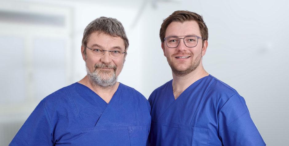 Zahnärzte im Zahnzentrum Fiedler dem Spezialisten für Zahnheilkunde und Mund- Kiefer- und Gesichtschirurgie in Kenzingen