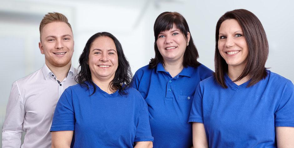 Gruppenbild, Team aus dem Zahnzentrum Fiedler in Kenzingen