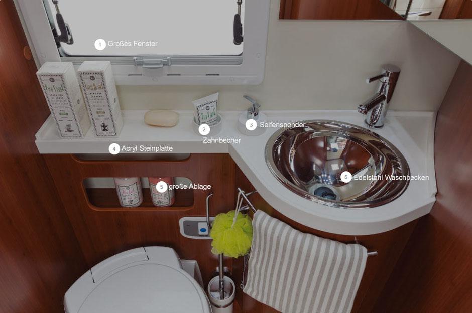 Badbereich K-Yacht Tekno Line