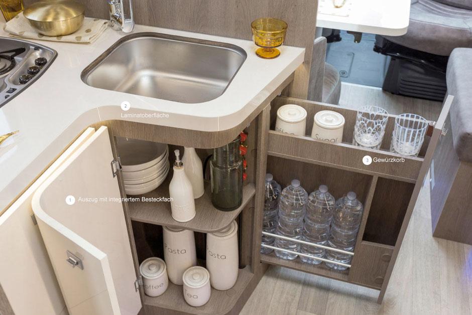 Küchenbereich K-Silver