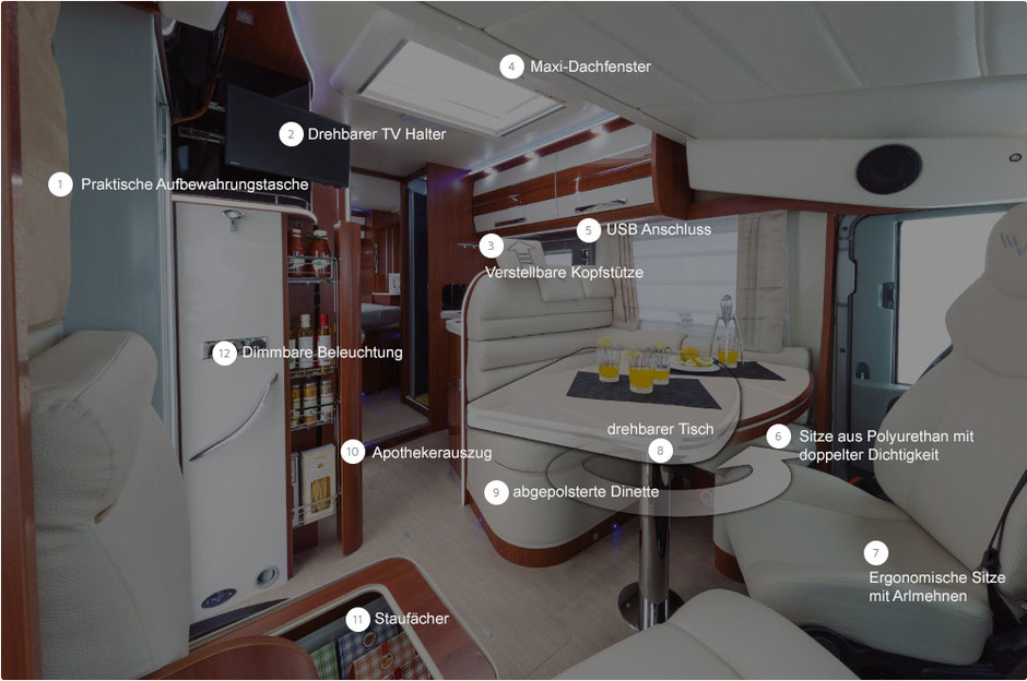 Tagesbereich K-Yacht Tekno Line
