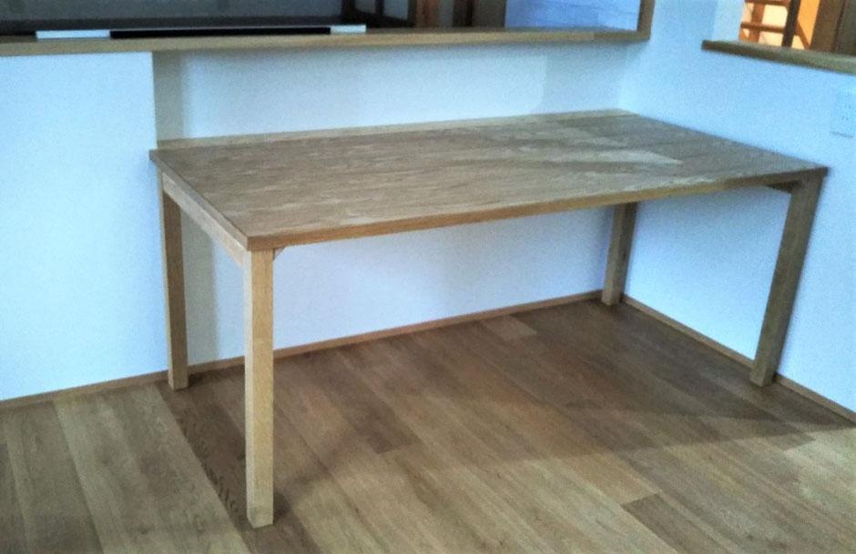 ダイニングテーブル オーダー家具 木製家具