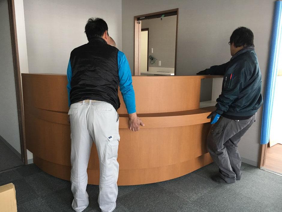 受付カウンター 歯科医院