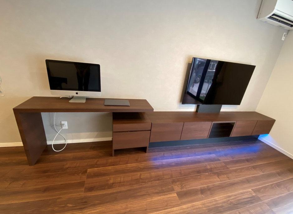 テレビボード デスク オーダー家具