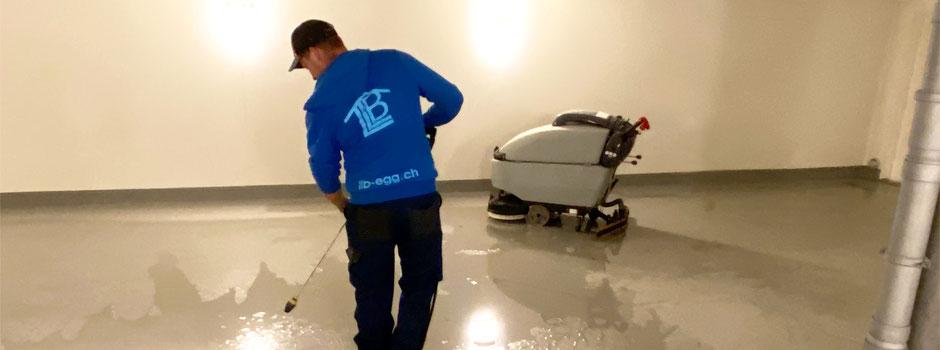 LLB Labhart Liegenschaften Betreuung Hauswartung Hauswart Garagenreinigung
