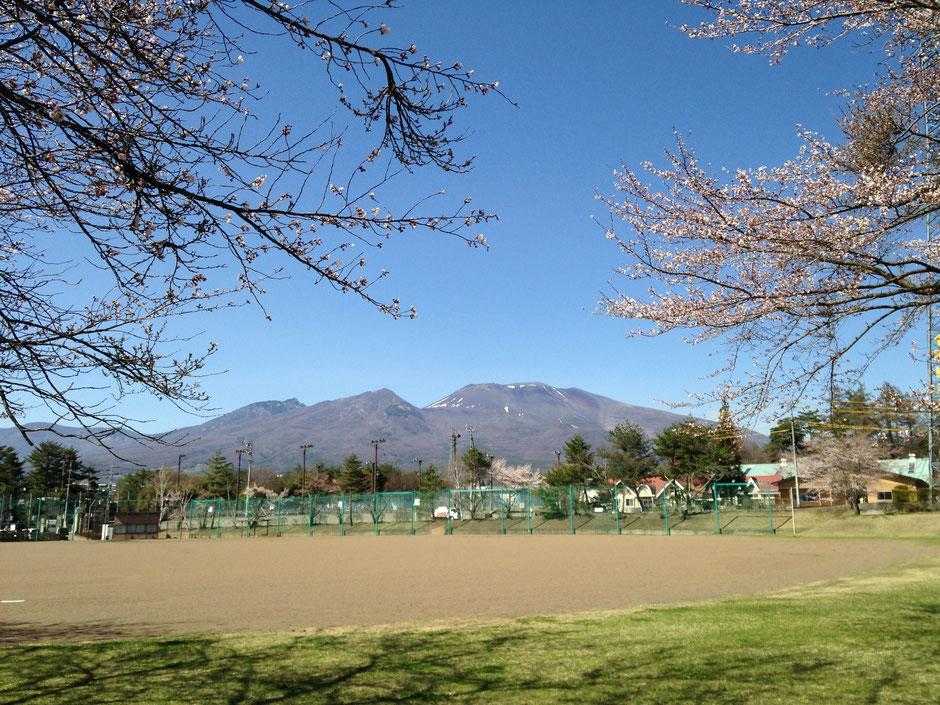 4月15日の浅間山