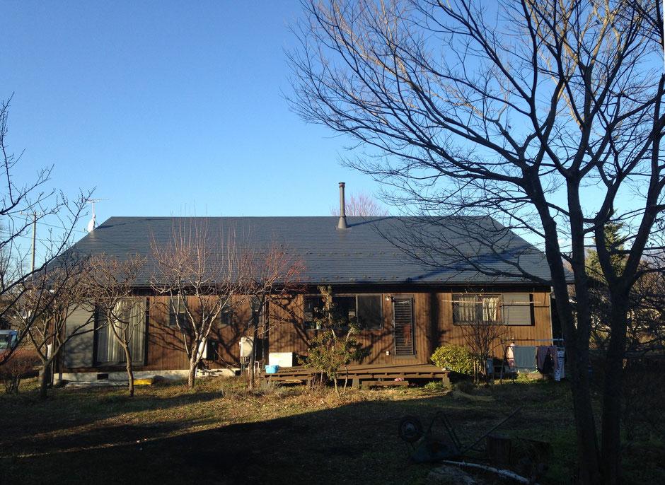佐久の住宅 2015年 冬