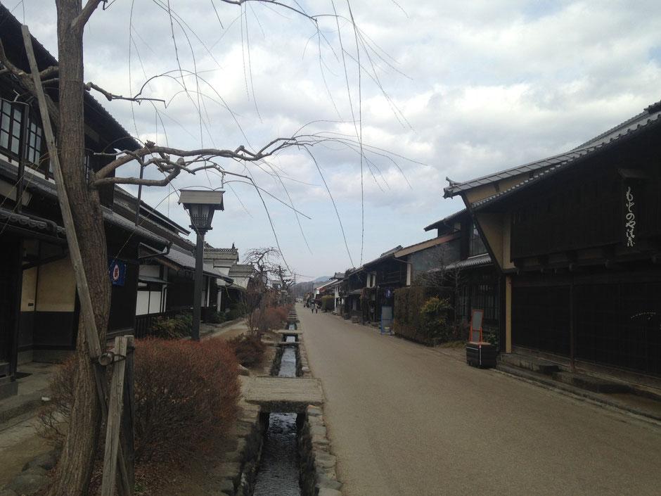 海野宿の街並