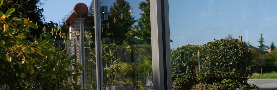 Windscreen-Anlage Terrasse