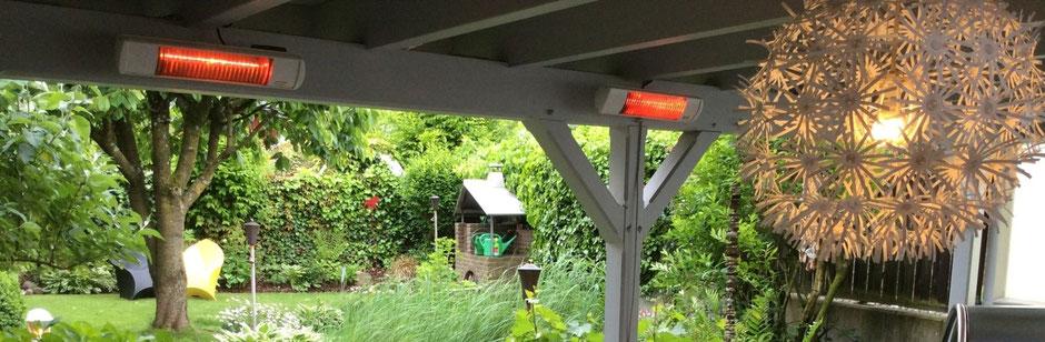 Terrassenstrahler für den Garten und Balkon
