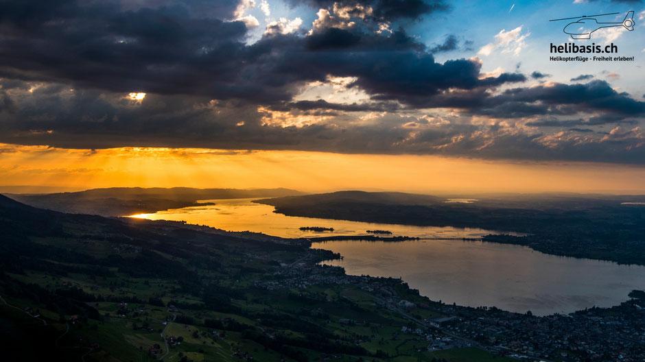 Zürichsee, Abendstimmung