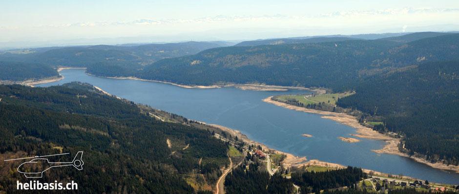 Schluchsee, Schwarzwald, Rundflüge, Rundflug, Heliflug, Heli, Helikopter