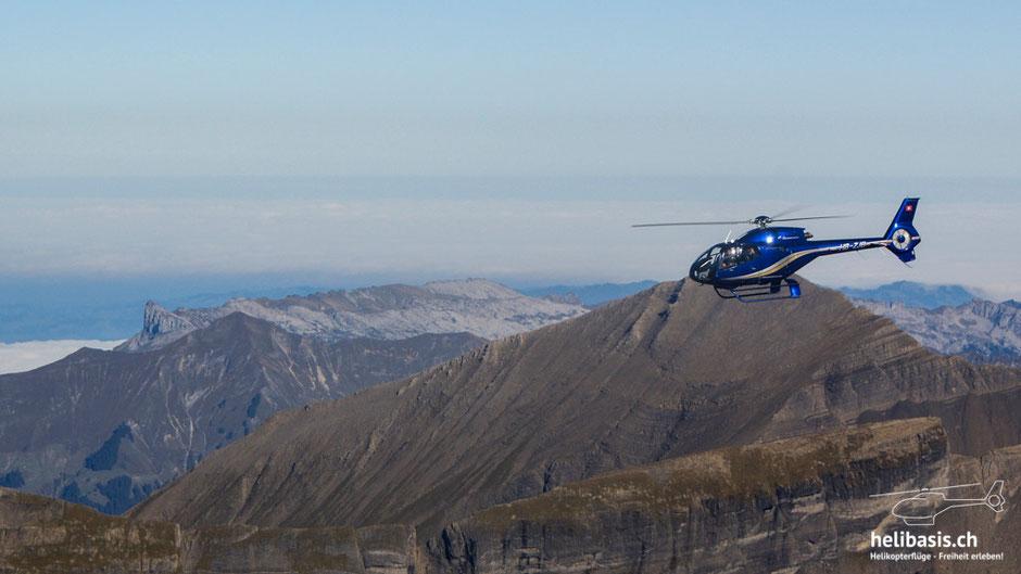 EC-120, HB-ZJB, EC120, Colibri, Heli, Berge, Alpen, Grindelwald