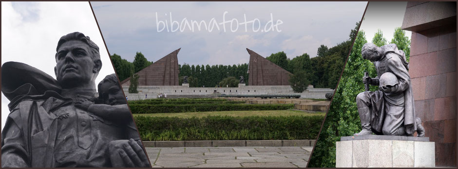 Sowjetisches Ehrenmal in Berlin Treptow ... Treptower Park ...