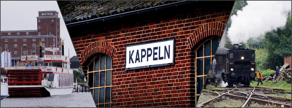 Erlebnisrundreise Schiff-Bus-Bahn in Kappeln