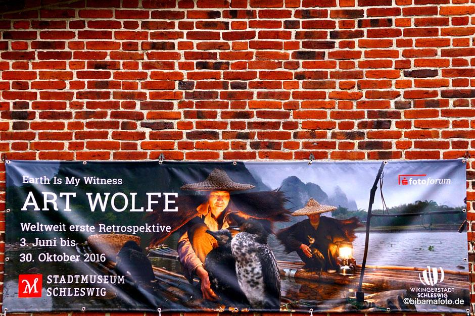 Ausflug zur Ausstellung nach Schleswig ...