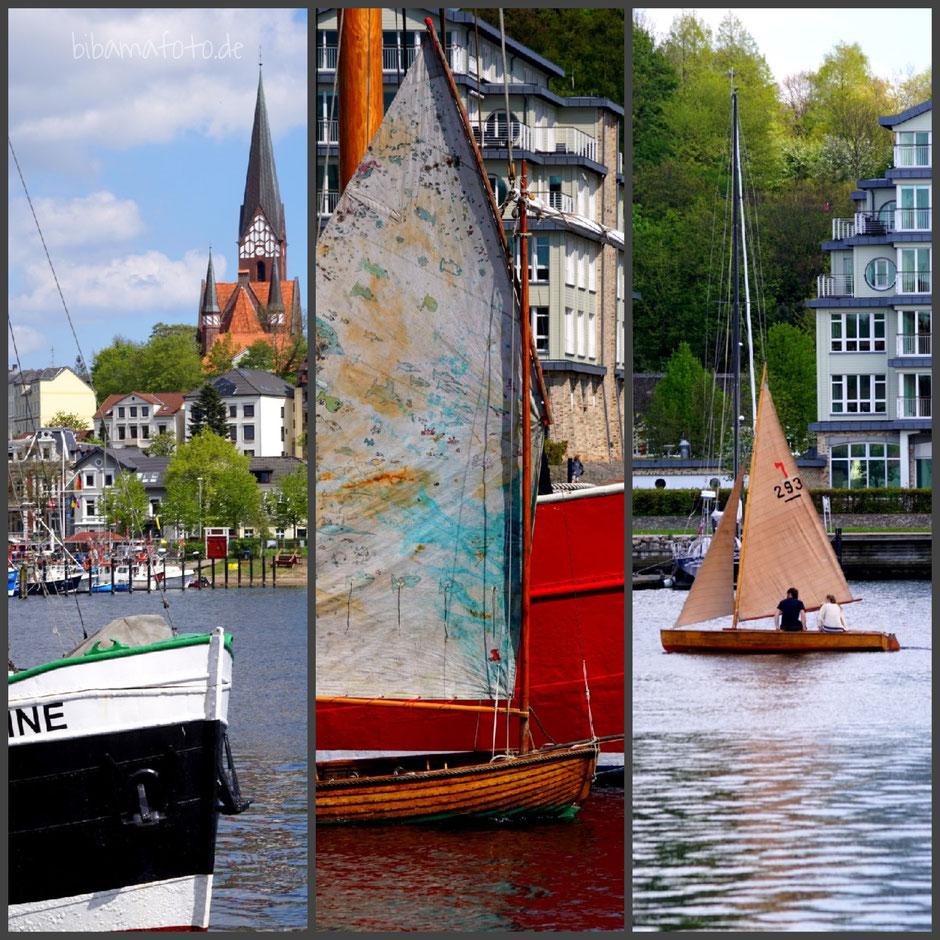 Flensburg ... am Hafen und Hollnis