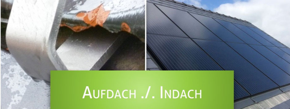 Unterschiede zwischen Solarindachlösungen und klassischen Aufdach-Solarmodulen.