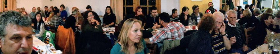 Bei den vielen Festen auf Ikaria kommen Alt und Jung zusammen. Jeder ist herzlich willkommen!