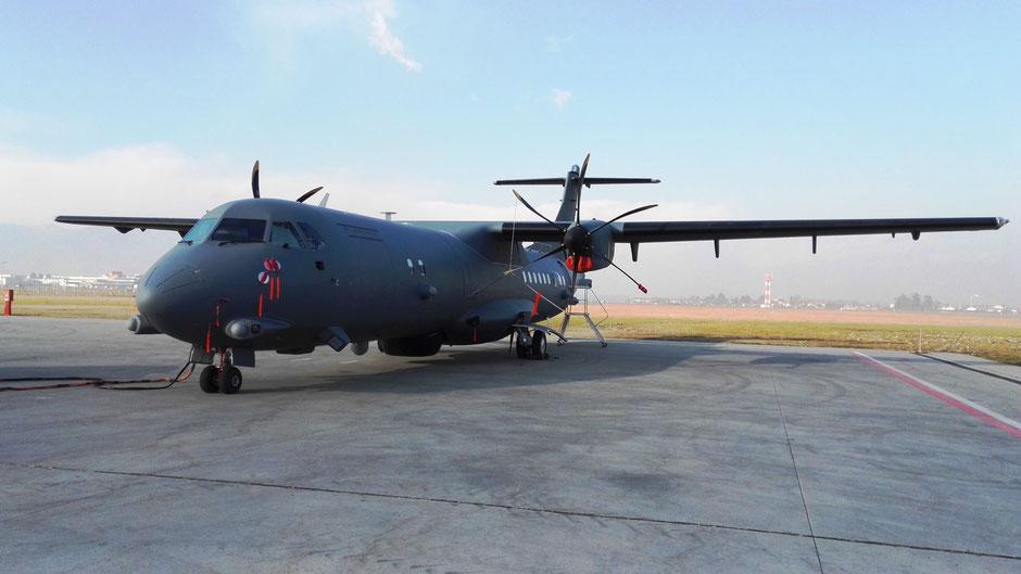ATR-72MP che l'AMI ha designato con la sigla P-72A. (Foto: Aeronautica Militare)