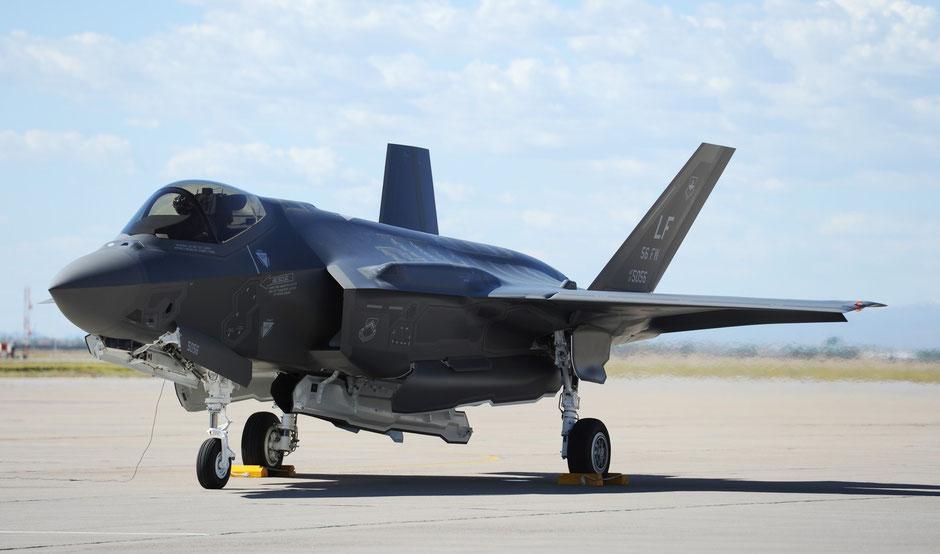Un Lockheed Martin F-35 Lightning II della Luke AFB / © USAF