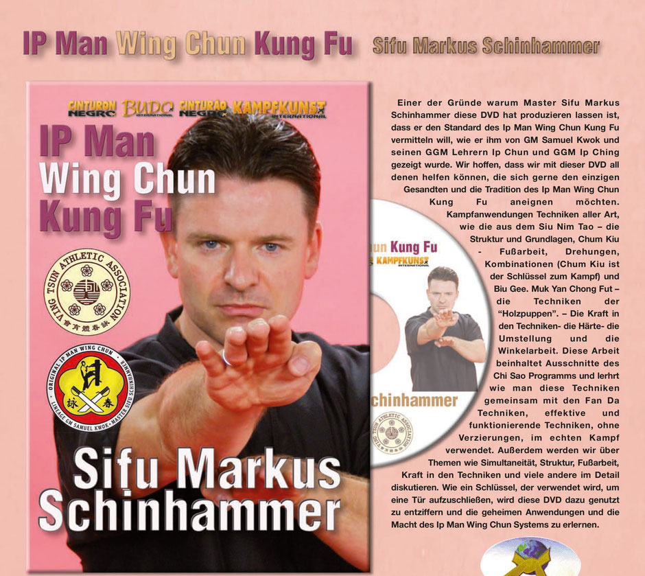 IP Man Wing Chun Lehr DVD