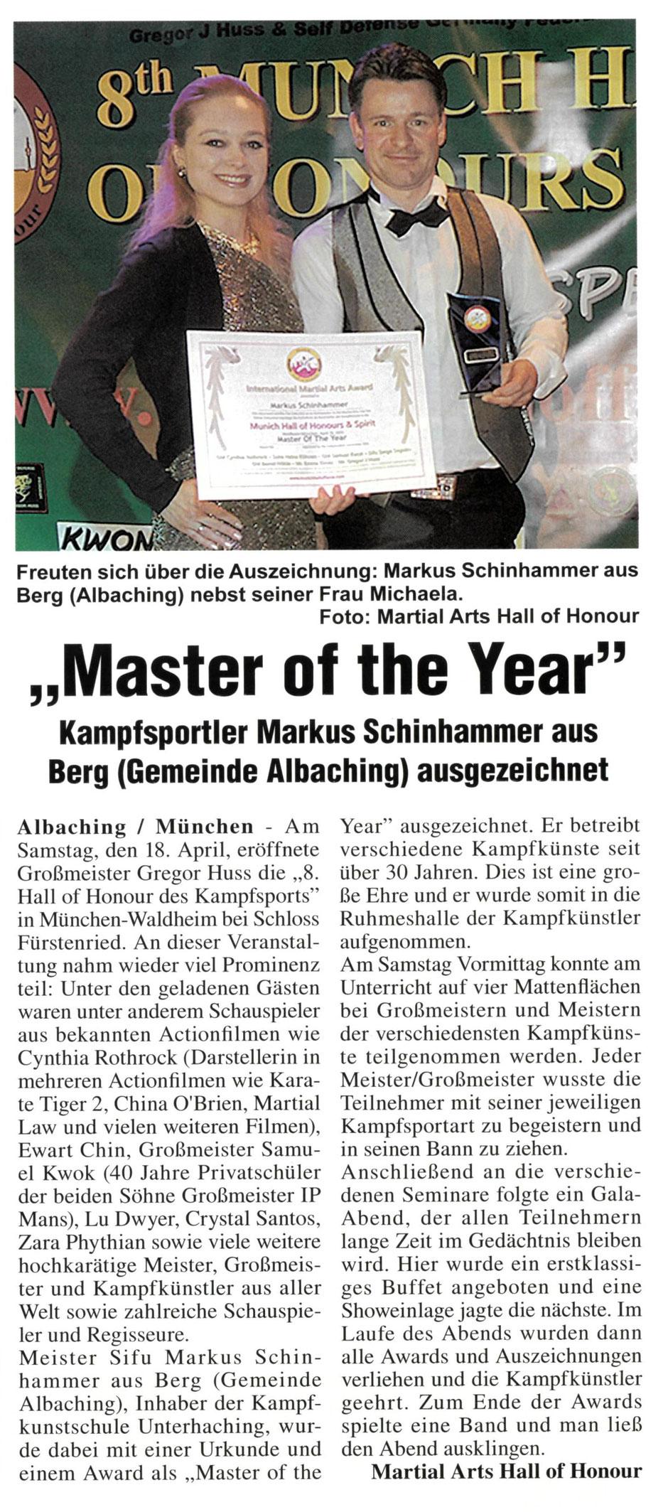 Hallo of Honour München 2015