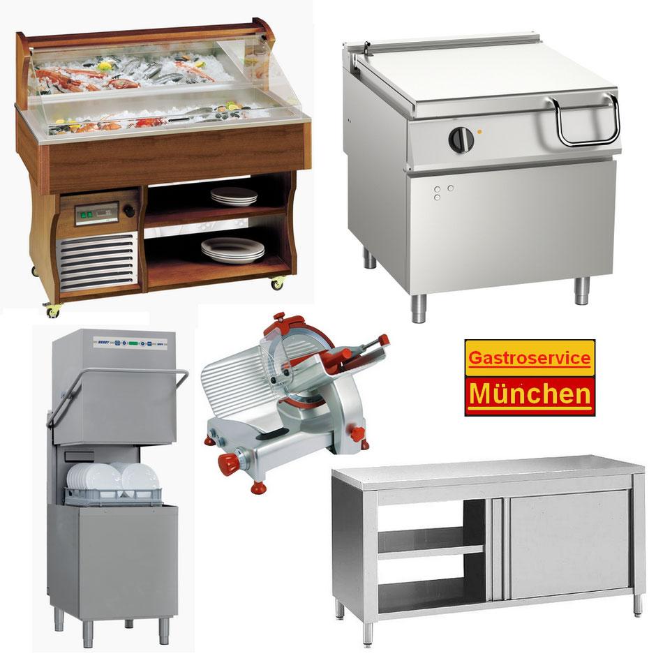 Gewerbliche Kühltechnik, Kochtechnik, Spültechnik und vieles mehr ...
