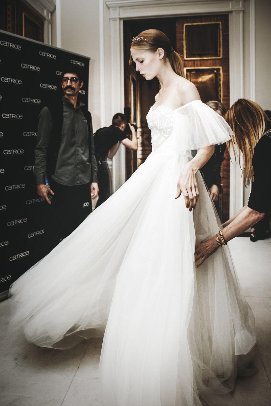 Traumhaftes Brautkleid von Klavier Gauche