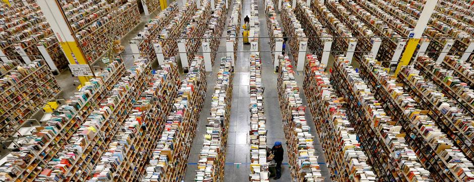 Distribuidor central de Amazon. Imagen: www.amazon.com