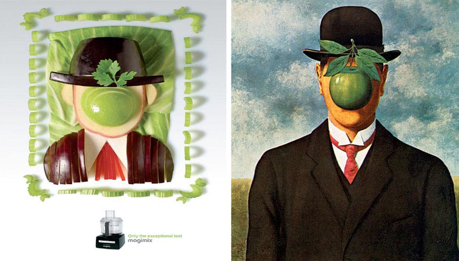Autorretrato (René Magritte) - Magimix