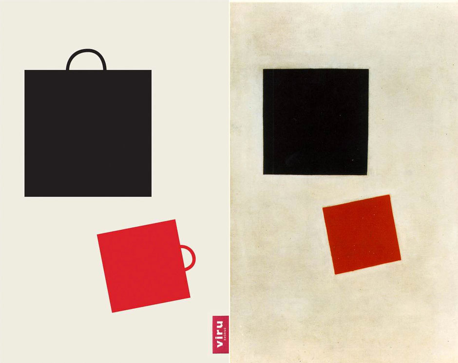 Black Square and Red Square (Malevich) - Viru