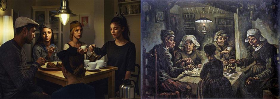 Los comedores de patatas (Vincent van Gogh) – IKEA