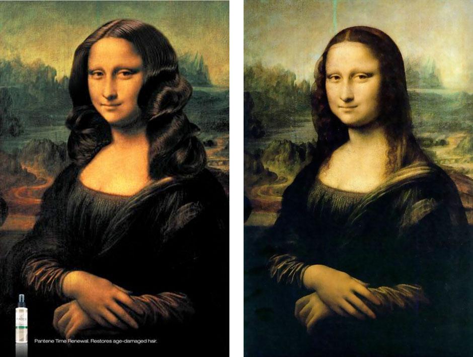 La Gioconda (Leonardo Da Vinci)  - L´Oreal