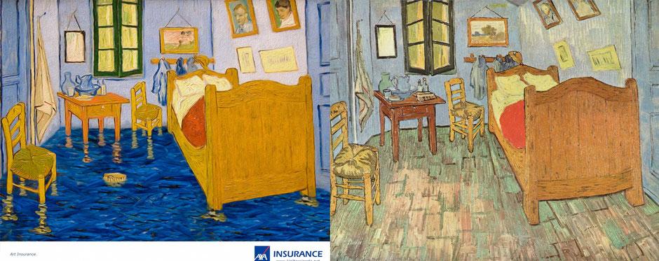 Dormitorio en Arles (Van Gogh) - AXA