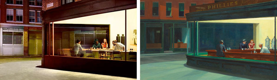 Nighthawks (Edward Hopper) - IKEA