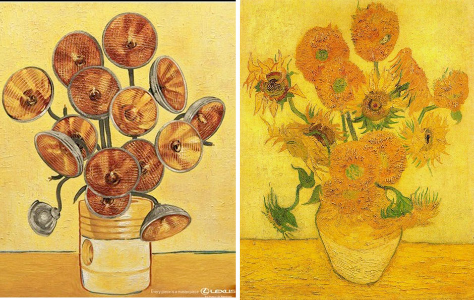 Los girasoles (Vincent van Gogh) - Lexus