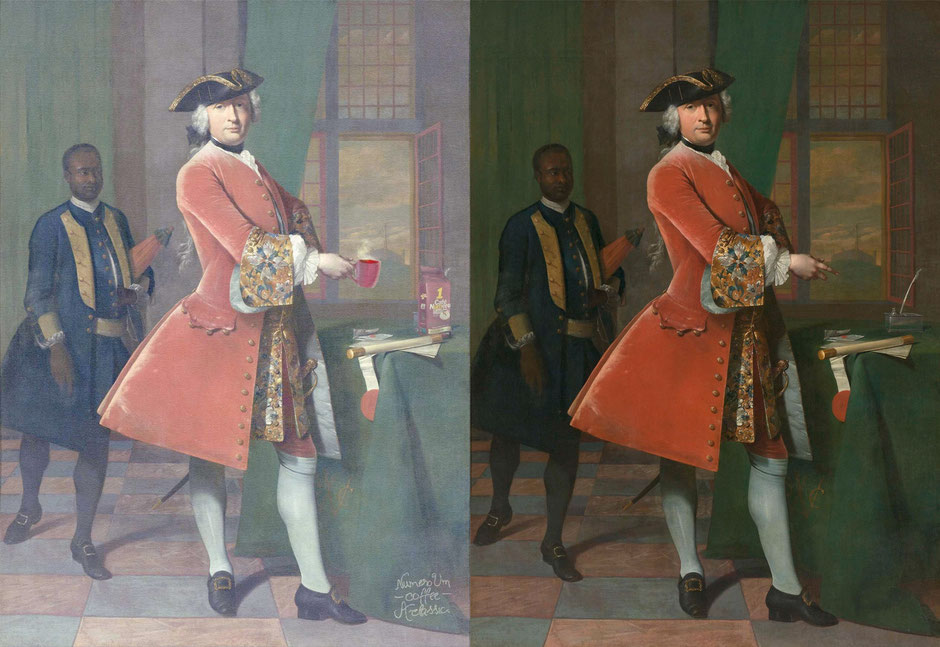 Portret van Jan Pranger  (Frans van der Mijn) - Numero UM Coffee