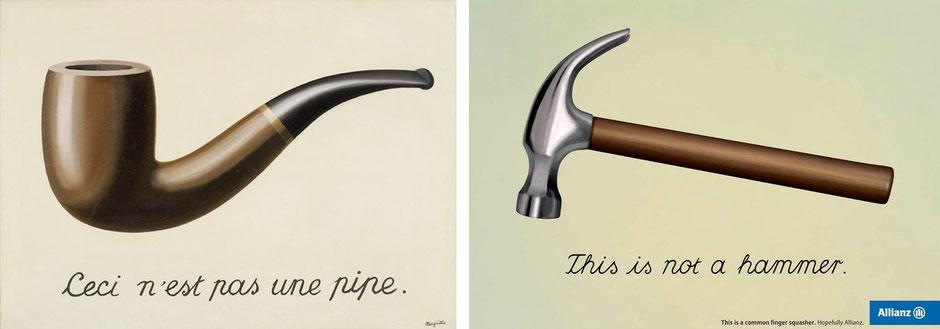La traición de las imágenes (René Magritte) - Allianze