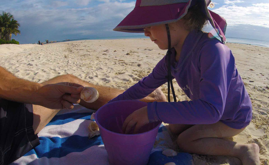 6 Best Public Family Beaches in Playa del Carmen - Off Resort - Playacar - there are actually seashells on this beach