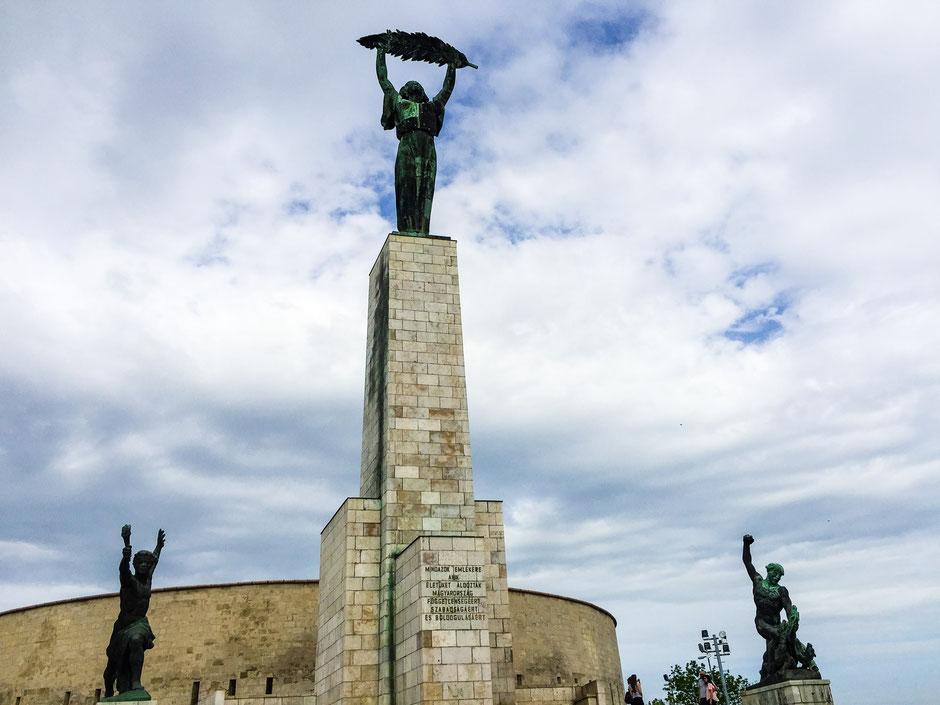 Liberty Statue on Gellert Hill Budapest